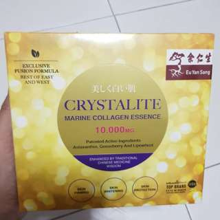 (sold) Eu yan sang Crystalite Marine Collagen essence (14packets in a box)