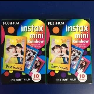 Fuji Film Instax Mini - Rainbow