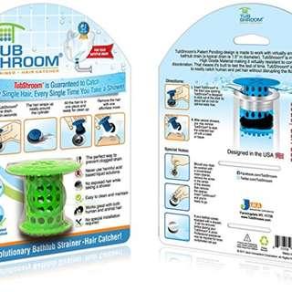 TUB Shroom - the Revolutionary Tub Drain Protector Hair Catcher, Strainer