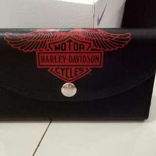 dompet wallet harley davidson leather kulit