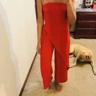 Keepsake The Label Red Jumpsuit