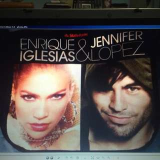 Jennifer Lopez and Enrique Iglesias Tour Bag / Purse