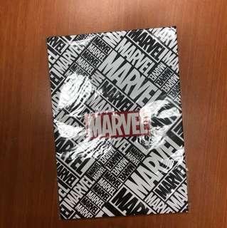 BRAND NEW! MARVEL notebook