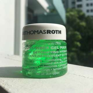 Peter Thomas Roth cucumber soothing gel face mask