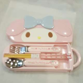 My Melody cutlery Set
