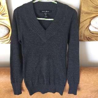 active basic knitted sweatshirt