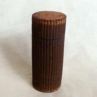 日本陶藝家 三笘修 小陶盒 小香盒