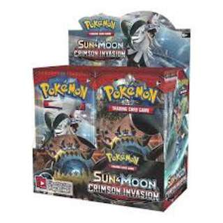 Pokemon (sealed) crimson invasion booster box
