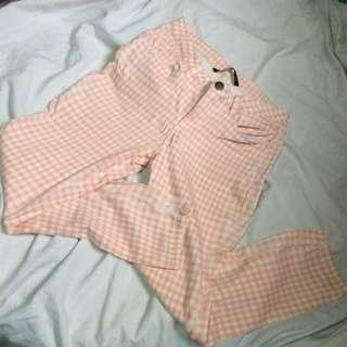 Forme checkered/printed pants