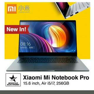 XIAOMI NOTEBOOK AIR 12.5INCH/ 13.3 INCH WITH FINGERPRINT/ NOTEBOOK PRO 15.6 INCH