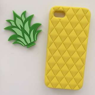 Pineapple silicon iPhone 5/5s phone case