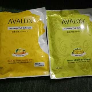 Avalon japanese collagen mango lemon