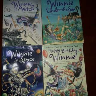 Buy all books for P150 - Winnie the Witch books