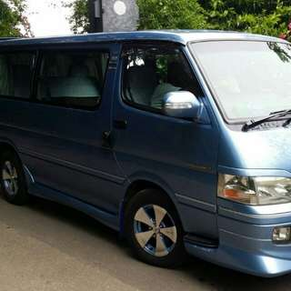 Van for hair. 7 seater