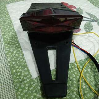 Drz or Motard tail light with signal integrated.