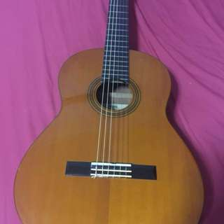 Yamaha Classic Guitar with leather case