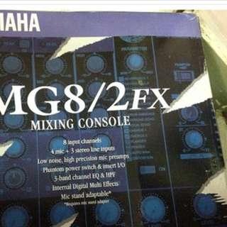 YAMAHA 控制台MG8/2fx
