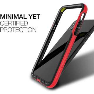 Patchworks Level Silhouette Bumper Red for iPhone X