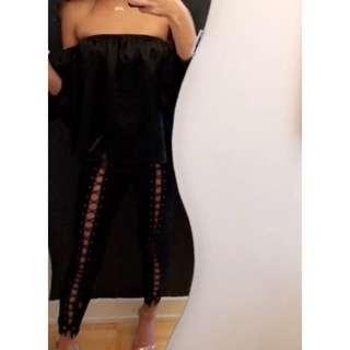 Tie Up Pants Size S