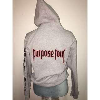 Justin Bieber Purpose World Tour Sweater Size S