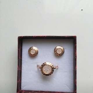 Earrings + ring for $60