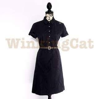 (D167)Vintage Shirt Dress
