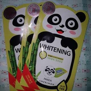 Cherimoa Panda Mask - Whitening