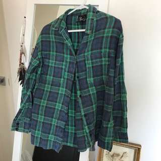 All About Eve Checkered Shirt