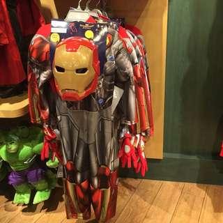 DISNEY ORIGINAL OFFICIAL MERCHANDISE Iron Man Light Up Costume