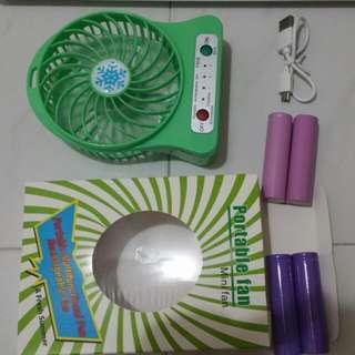 Rechargeable Mini Portable Fan