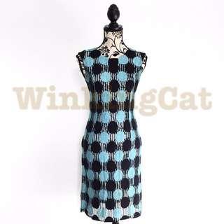 (D170)Vintage Crochet Dress