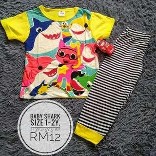 Pyjamas Baby Shark