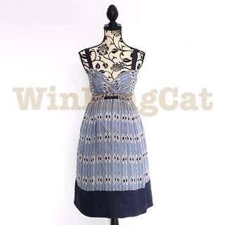 (D173)Vintage Aztec Dress