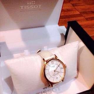 Tissot 天梭 杜魯爾系列 玫瑰金 9.999999999新