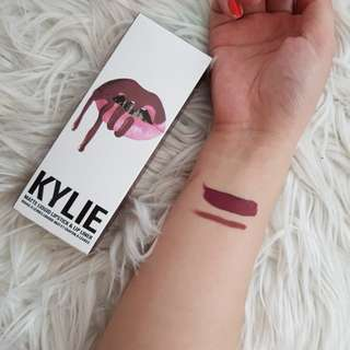 "Kylie Lip Kit ""Love Bite"" // Fake Up"