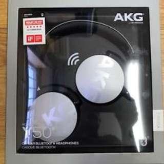 AKG y50 BT headset (sealed brand new)