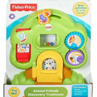 BNIB Fisher-Price Animal Friends Discovery Treehouse