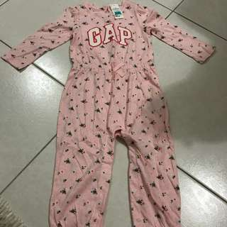 Baju tidur gap size 18-24 bulan