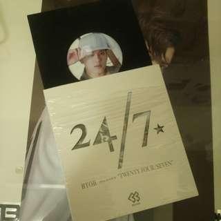 BTOB 日本專輯 24/7 會員限定版連襟章