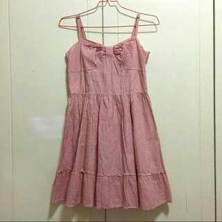 ESPRIT Pink Stripe Dress