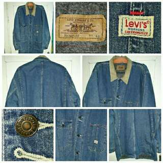 Levi's vintage '70 type Workers 70742-20