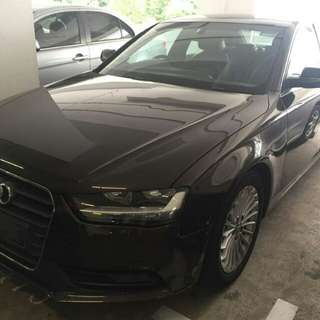 AUDI A4 1.8(A) TURBO 2012 SUPER CUN