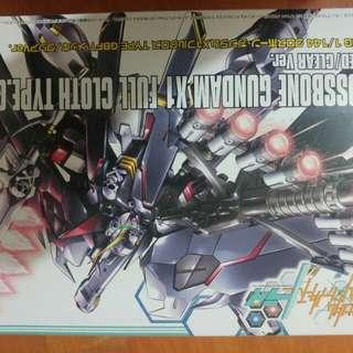 Gundam 全新 GUNPLA EXPO 2017 限量版模型‧ 高達 HGBF 1/144 骷髏高達 X1 全武裝 Ver. GBFT 電鍍/透明版