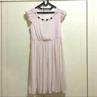 [FREEONGKIR] Soft Pink Dress