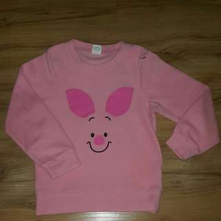 Lativ Disney fleece piglet jumper