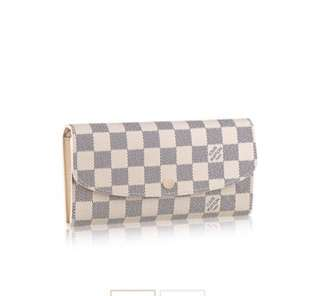 Real authentic Louis Vuitton EMILIE WALLET