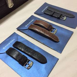 Authentic Philip Stein straps for sale