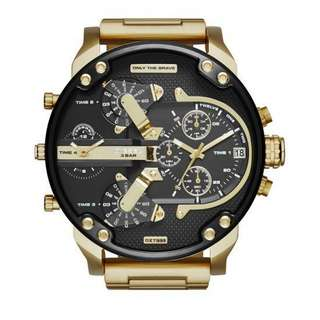 Diesel DZ7296 Mr Daddy Black Ion Plated Mens Watch