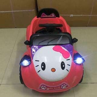 Small Hello Kitty Ride On Car for Kids