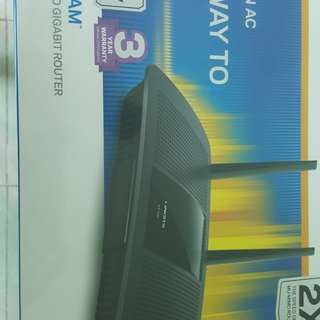 Linksys Max-StreamTMEA7500 AC1900+ wireless router(Hvnt Open)